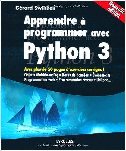 langage python pdf
