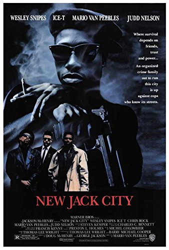 New Jack City Movie POSTER 27 x 40 Wesley Snipes, Ice-T , A, MADE IN THE U.S.A.