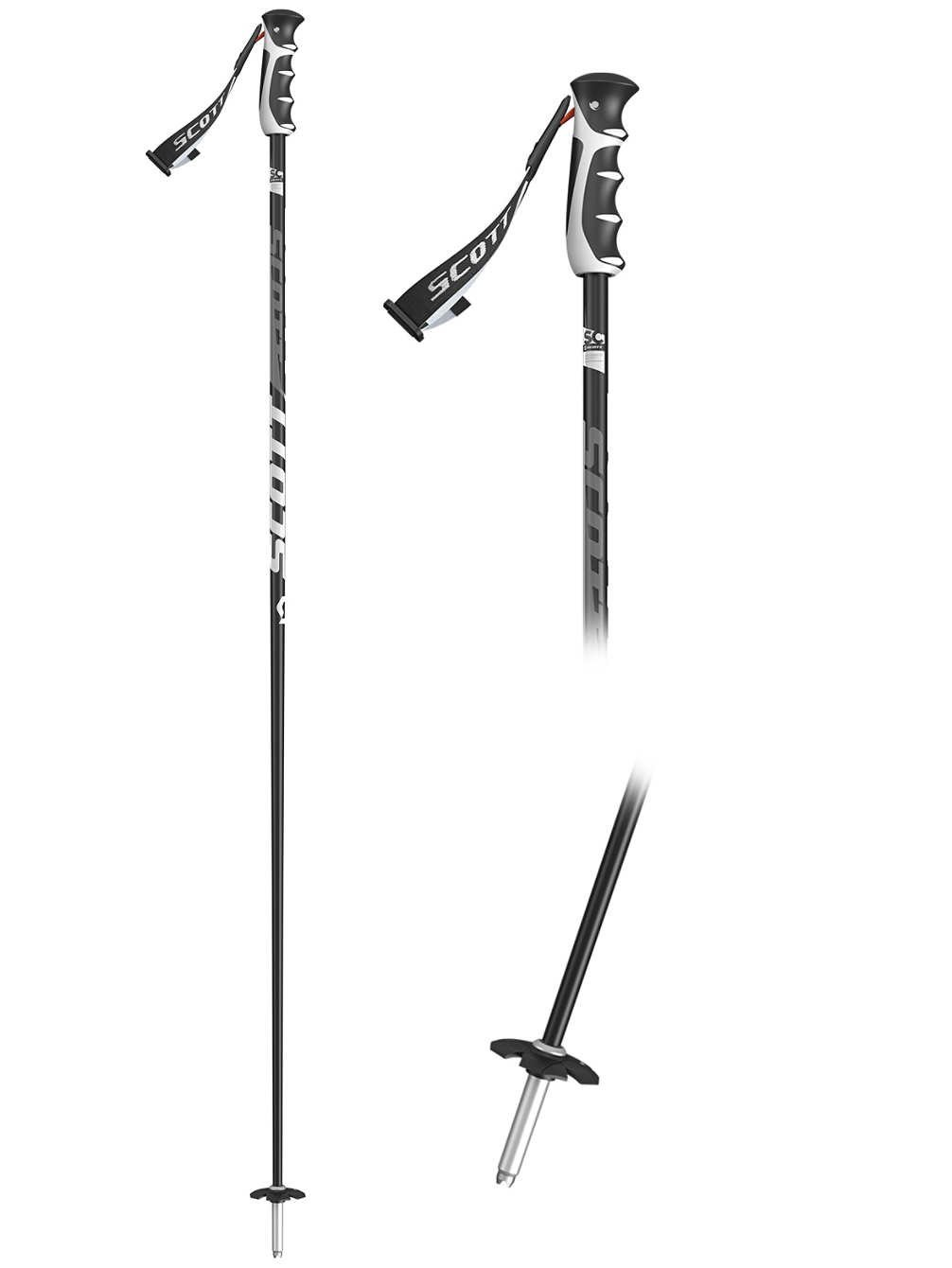 Scott Herren Skistock Pro Taper SRS 130cm 2018 SkistÃcke