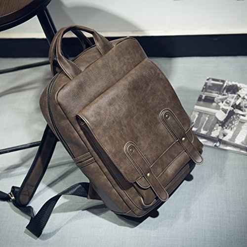 Man portable bolso mochila multifuncional paquete masculino británico camuflaje Dark brown