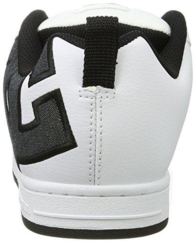 Se Ginnastica Shoes Bianco White Graffik DC Charcoal Scarpe Court da Basse Uomo t7WwUaqOU