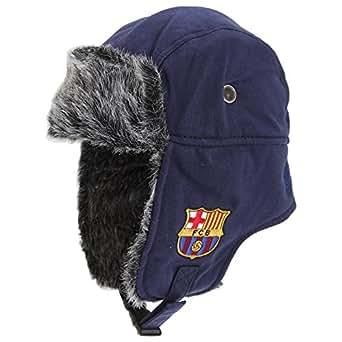 Gorra de invierno con escudo oficial del FC Barcelona, Unisex, Trapper, multicolor, n/a: Amazon.es: Deportes y aire libre