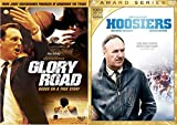 Extraordinary True Basketball Stories DVD Combo: Glory Road & Hoosiers Double Feature inspirational Sports film bundle