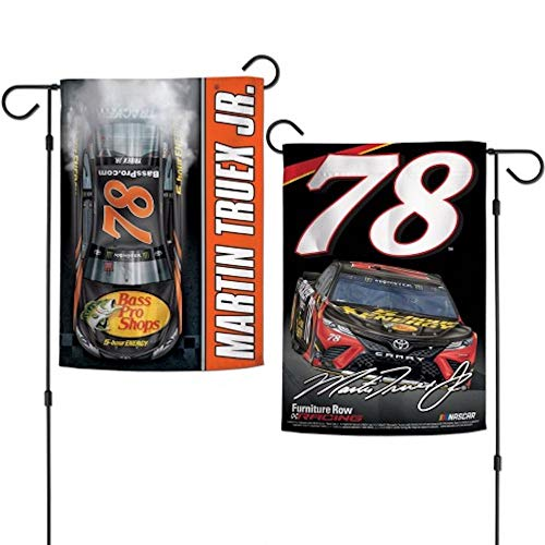 "McArthur NASCAR Martin Truex Jr #78 12.5"" x 18"" Two Sided Vertical Garden Flag"