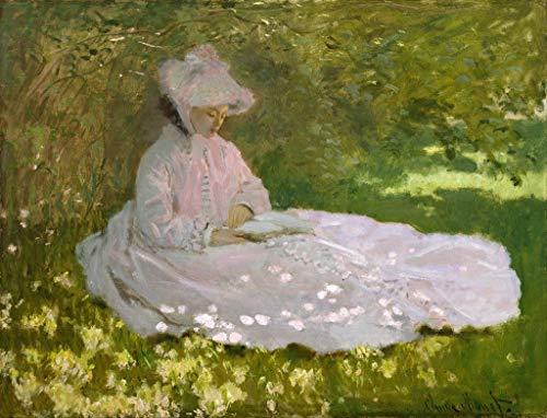 Ecru Puzzles - Monet Springtime Wooden Jigsaw Puzzle