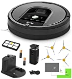 iRobot Roomba 960 Vacuum Cleaning Robot + Dual Mode Virtual Wall Barriers