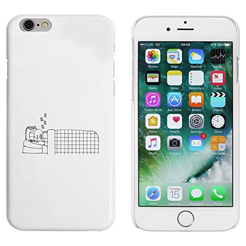 Weiß 'Schlafender Mann' Hülle für iPhone 6 u. 6s (MC00015034)
