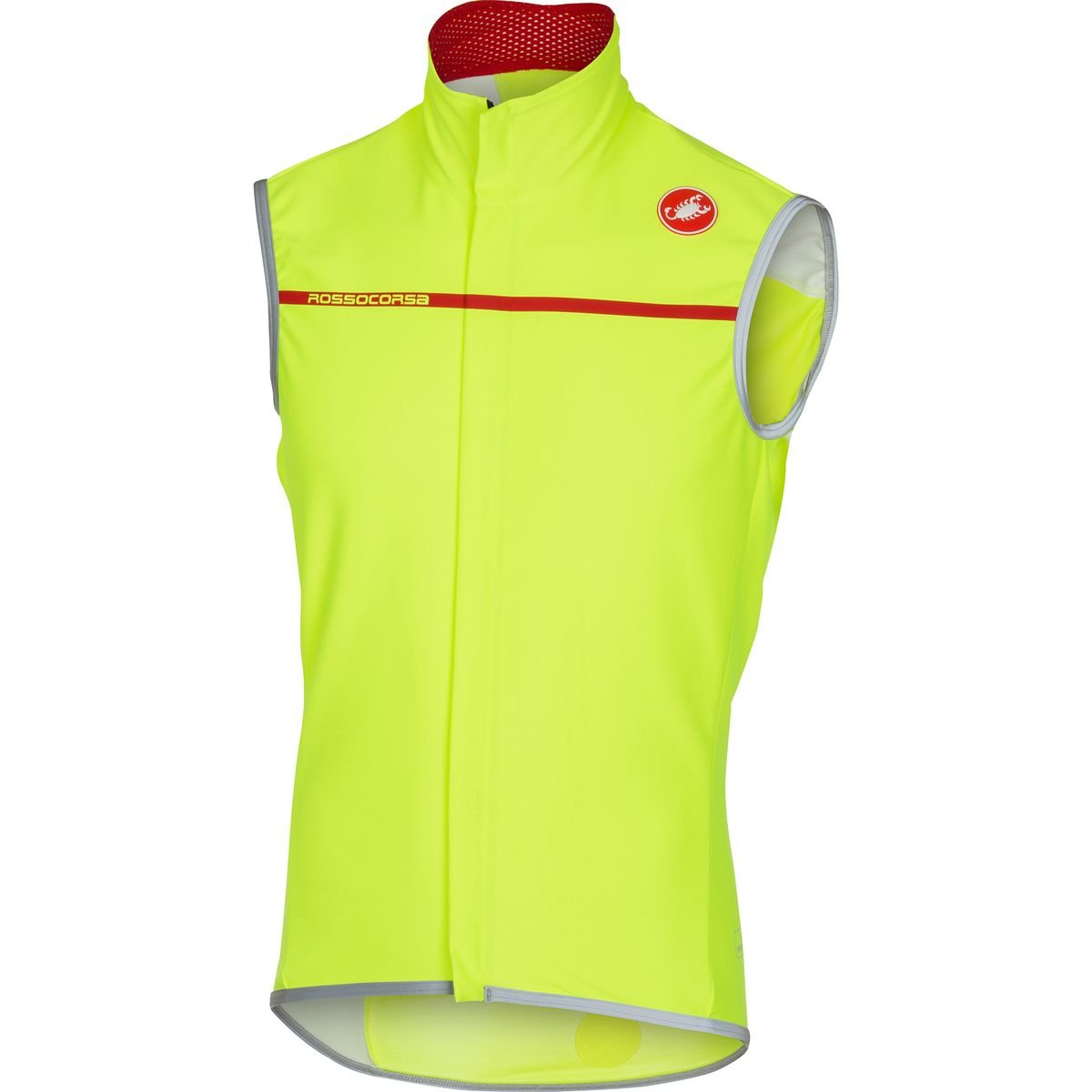 Castelli Perfetto Vest - Men's Yellow Fluo, XL by Castelli
