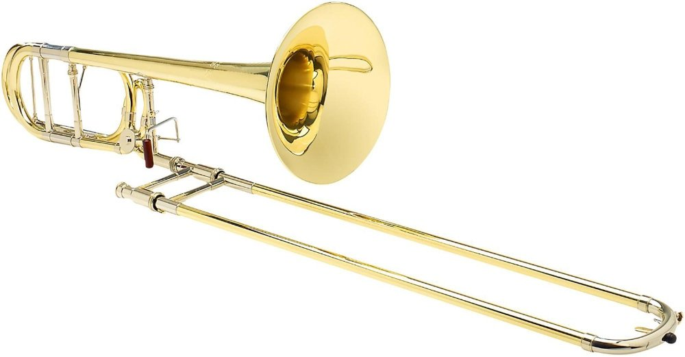 S.E. SHIRES TBQ30YR Q-Series Professional F-Attachment Trombone Lacquer Yellow Brass Bell
