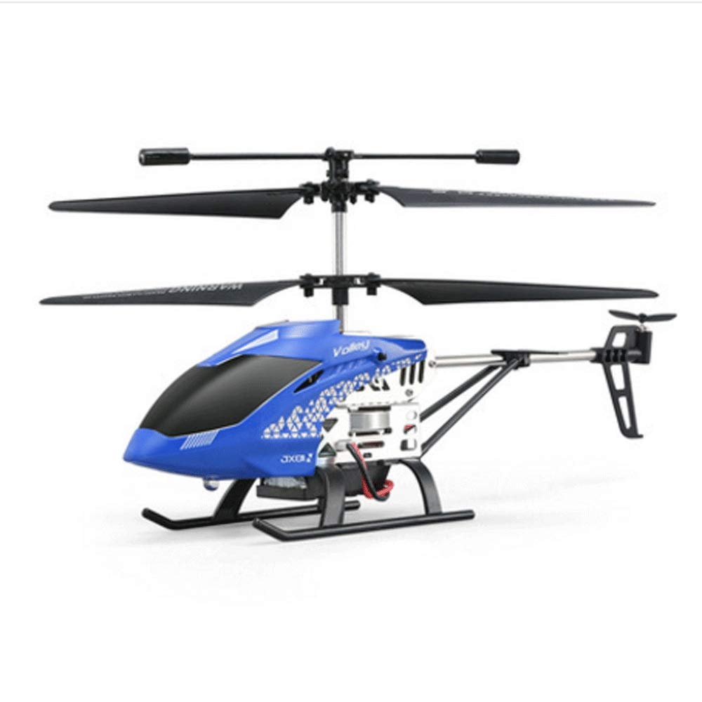Zenghh Remote Control Helicopter Drone Toy Multiplayer Game Alloy Frame Charging and LED Light Child Boy Remote Control Aircraft Indoor Outdoor Drop Rocker Model Gyro New Preferred Gift