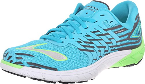 BROOKS Women's PureCadence 5 Scuba Blue/Green Gecko/Anthr...
