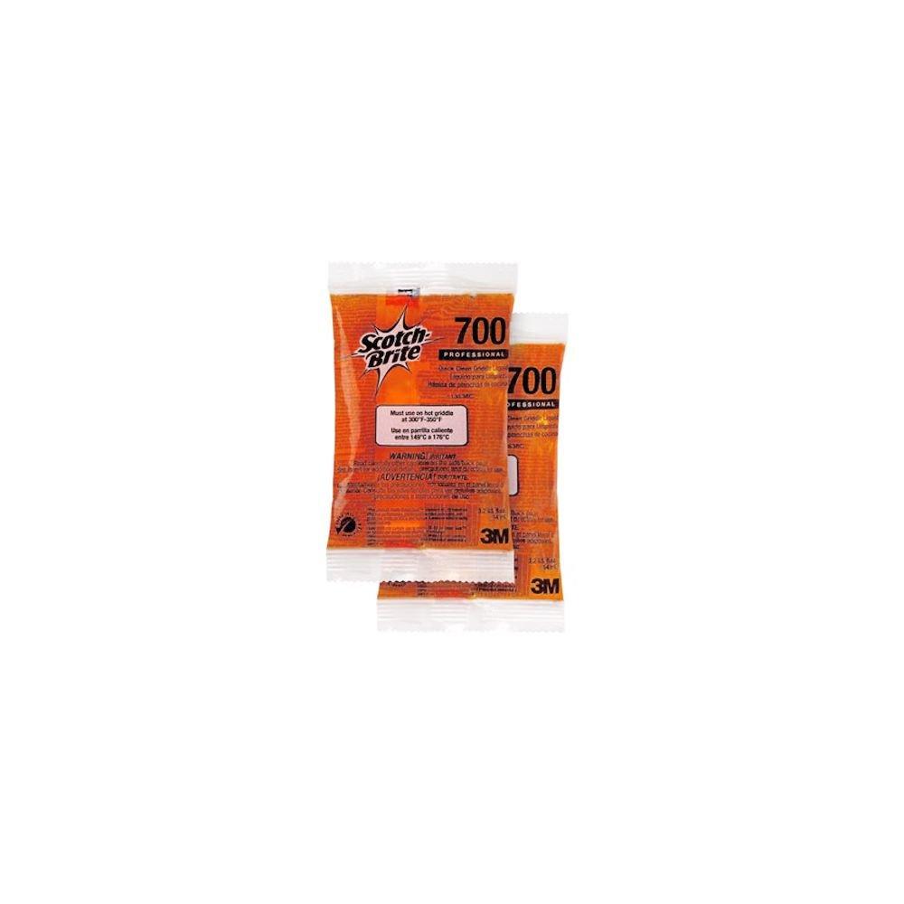 3M 700-40 3.2 Oz. Quick Clean Liquid Griddle Packets - 40 / CS