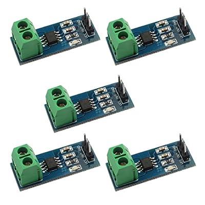 C.J. SHOP® 5PCS New design 30A range Current Sensor Module ACS712 Module FOR Arduino from C.J. SHOP