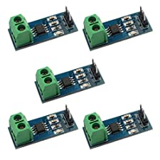 Daoki 5pcs 30a Range Current Sensor Module Acs712 Module For Arduino