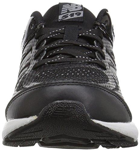 New Balance Boys' 519v1 Running Shoe, Black/White, 12.5 W US Little Kid by New Balance (Image #4)