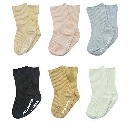 Baby Toddler Socks Boys Girls Cotton Non Skid Anti
