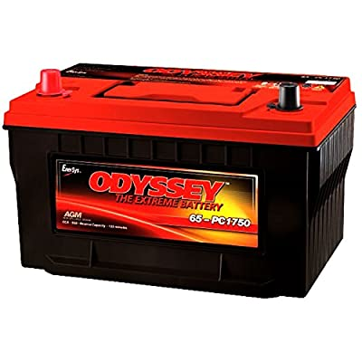 Odyssey Extreme PC1750/65 950CCA Sealed AGM Automotive Start Battery for Emergency response: Police cruisers, fire trucks, ambulances. 4X4 Off-Road/Off-road vehicles - SUVS, Light trucks. Heavy Duty/Commercial Tractor trailers Earth-moving construction eq