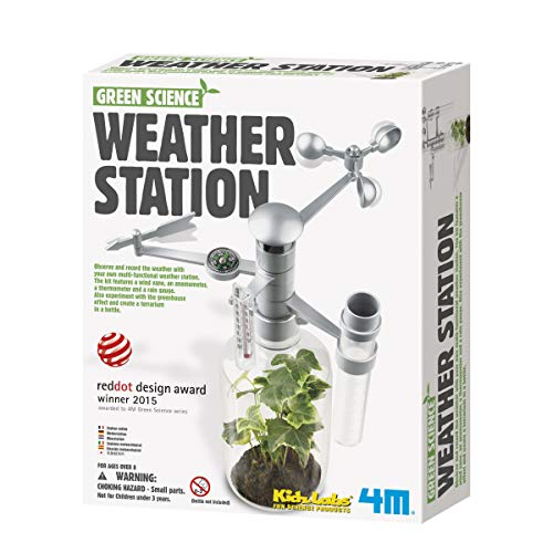 Green Science Weather Station Experiment Kit for Home kid Sc