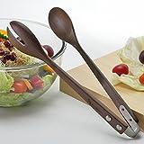 Ann Lee Design Modern Wood Salad Tong (Walnut)