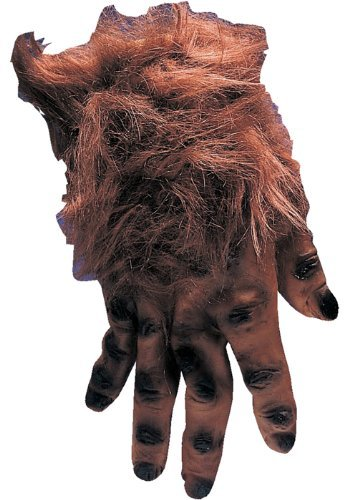 Rubie's Costume Co Brown Hairy Hands Costume (2)