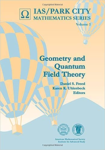 Book Geometry and Quantum Field Theory (IAS/Park City Mathematics Series)