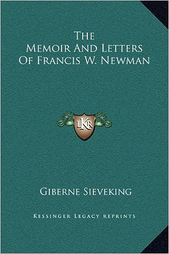 Lataa ebook ilmaiseksi pdf-muodossa The Memoir And Letters Of Francis W. Newman in Finnish ePub 1169313892