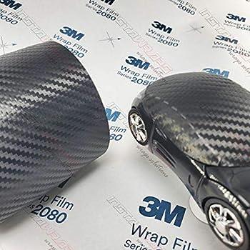 3M 1080 Black Carbon Fiber   CFS12   Vinyl CAR WRAP Film (Sample 2.5in x 4in)