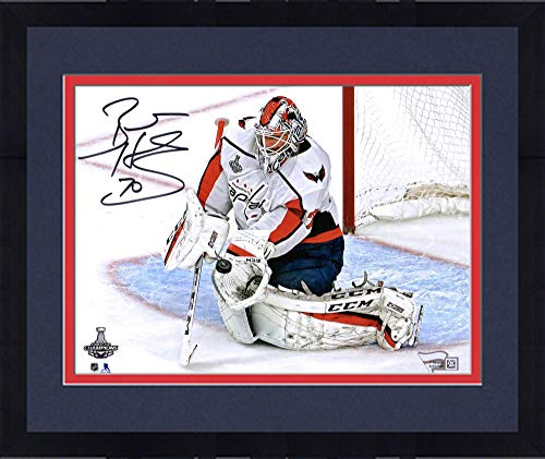 Framed Braden Holtby Washington Capitals 2018 Stanley Cup Champions Autographed 8