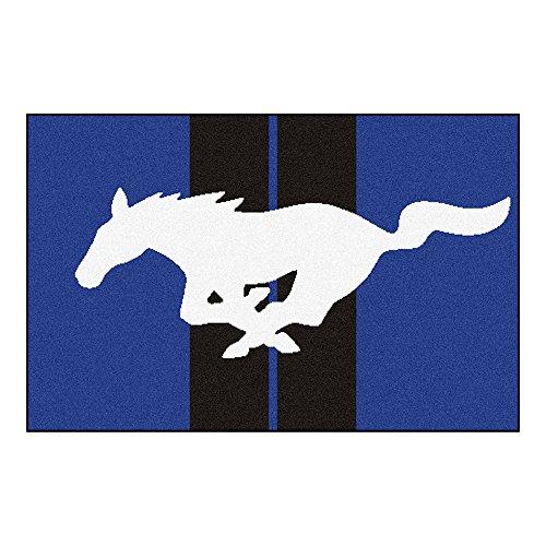 (NASCAR Ford - Mustang Horse Starter Rug, 19