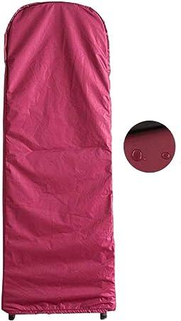 ALGFree Escalera Plegable Cubierta Funda Muebles Protectora Polvo Impermeable Proteccion Solar Cubrir Casa Conjuntos Almacenamiento, 5 Colores (Color : Red, Size : 50x174x6.5cm): Amazon.es: Hogar