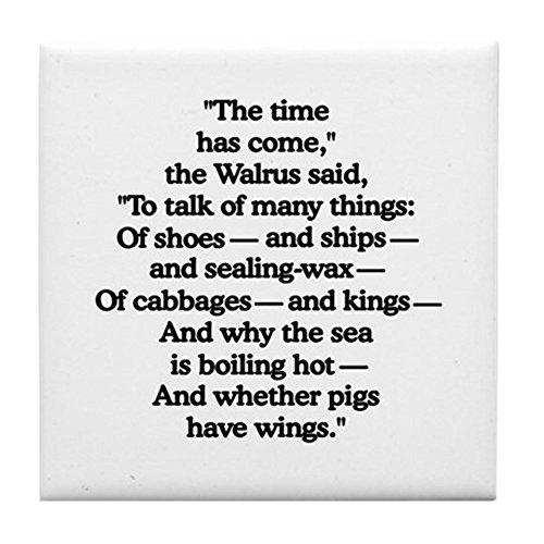 - CafePress - Walrus - Tile Coaster, Drink Coaster, Small Trivet