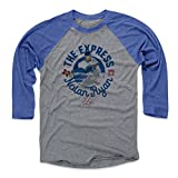 500 LEVEL Nolan Ryan Baseball Tee Shirt - Vintage Texas Baseball Raglan Shirt - Nolan Ryan Circle