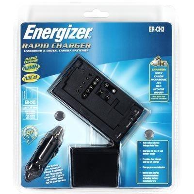 Amazon.com: Energizer erch3 videocámara rápido cargador para ...