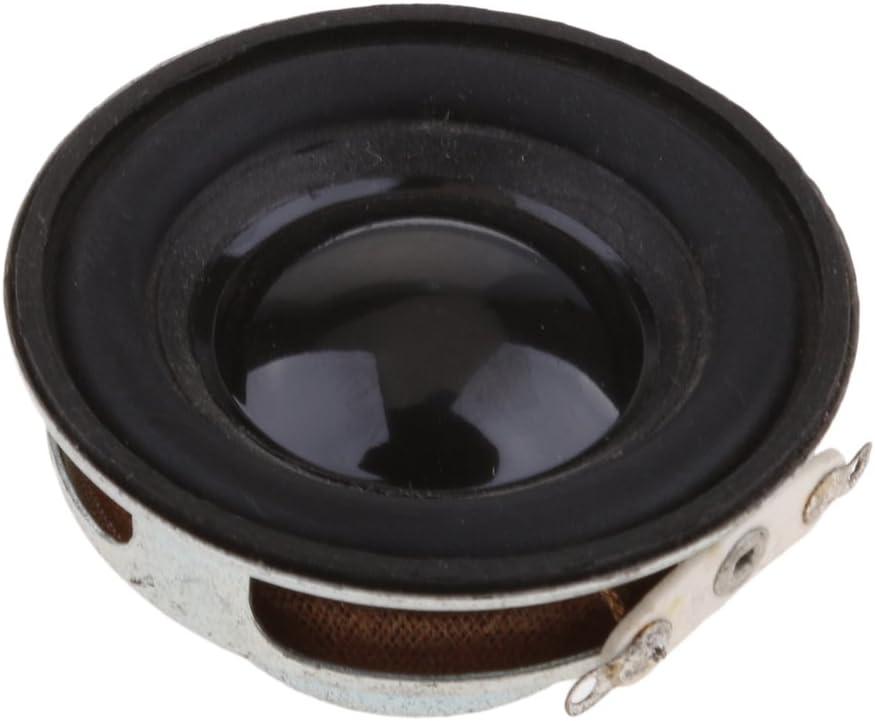 23mm 2W 4ohm Baoblaze Enceinte Audio St/ér/éo Haut-Parleur HiFi De Haut-Parleur de Bricolage