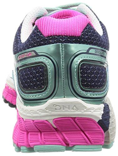 418 Azul Adrenaline 16 Bluetint Zapatillas GTS Brooks de Peacoat Entrenamiento Mujer Pinkglo CafpxZwqPw
