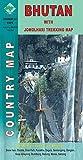 Bhutan with Jomolhari - Country Map - Scale 1: 450 000 & 100 000