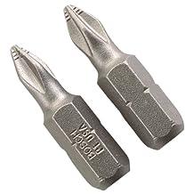 Bosch P1102 Number 1 Phillips Insert Bit, 2-Pack