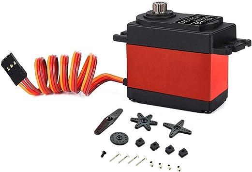 DSD TECH SH-SPK150A Servo num/érique avec Un Couple /élev/é de 15 kg et Un Angle de contr/ôle de 120 /° pour Le mod/èle RC