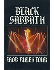 Black Sabbath 1982 Mob Rules Tour Concert Program Book Programme