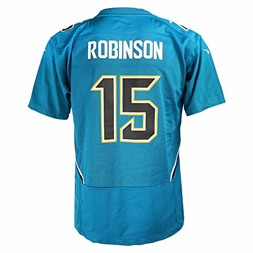 Allen Robinson Jacksonville Jaguars NFL Nike Teal Game Team Jersey For Youth (M)