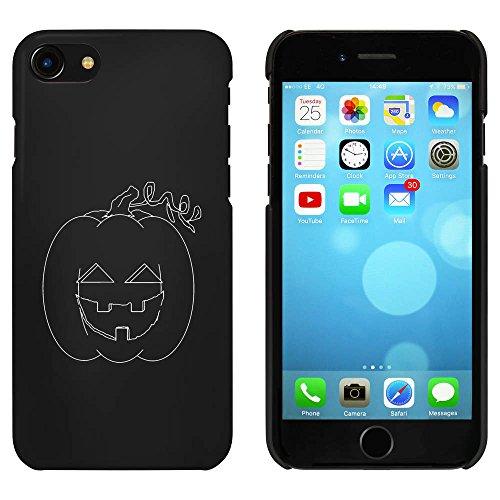 Noir 'Effrayant Citrouille' étui / housse pour iPhone 7 (MC00078059)
