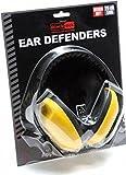 Baratec Yellow Cushioned And Adjustable Headband Ear Defenders Ear Muffs - SNR 25 db by Blackrock