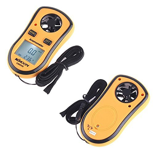 KKmoon GM8908 LCD Digital Wind Speed Temperature Measure Gauge Anemometer (GM8908) Brand change to:KKmoon