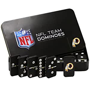 NFL Washington Redskins Domino Set in Metal Gift Tin