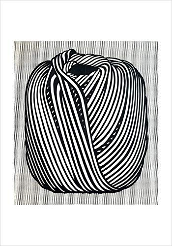 Posters: Roy Lichtenstein Poster Art Print - Ball of Twine, 1963 (14 x 11 inches)