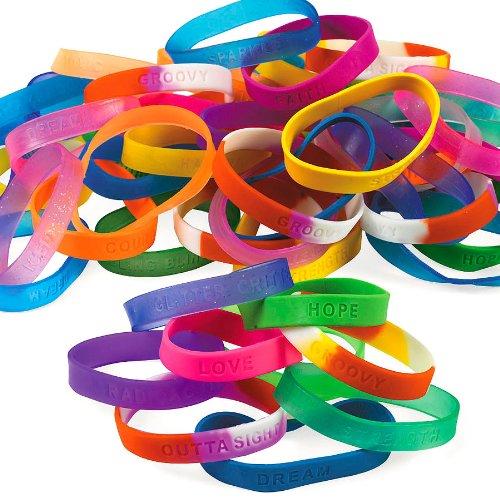 Mega Assortment Sayings Bracelet (100 pc) ()