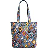 quilted fabric bags - Vera Bradley Women's Tote Painted Medallions Handbag