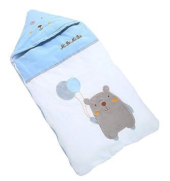ML Saco de Dormir para bebés, cucaracha recién Nacida, edredón de algodón con Dibujos