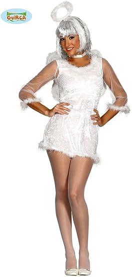 Partydisfraces - Disfraz de ángel para Mujer: Amazon.es: Juguetes ...