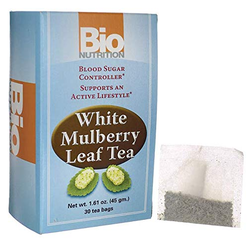 (Bio Nutrition White Mulberry Leaf Tea, 30 Count)